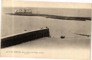 CPA Le Portel-Le Port et la Plage (268497)