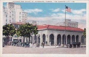 Outdoor Post Office Saint Petersburg Florida The Sunshine City
