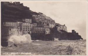 Italy Amalfi Mareggiata