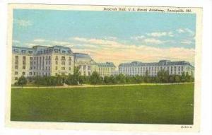 Bancroft Hall, U.S. Naval Academy, Annapolis, Maryland, PU-1950