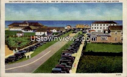 Bathing Resorts on the Atlantic Ocean in Carolina Beach, North Carolina