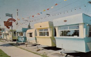 BC: VANCOUVER , B.C. , Canada , 1950-60s ; Imperial Mobile Homes Ltd #2