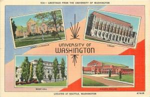 Seattle~University of Washington~Library~Meany Hall~Womens Gymnasium~1942