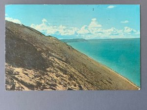Lake Michigan Glen Haven MI Chrome Postcard A1198085555