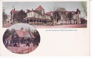 MANITOU , Colorado, 1901-07 ; Soda Springs & Cliff House