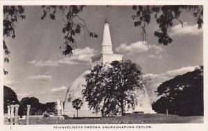 RP; Ruanveliseya Dagoba, Anuradhapura, Ceylon, 10-20s