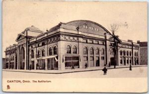 1915 Canton, Ohio Postcard The Auditorium Building View TUCK'S Series 7351