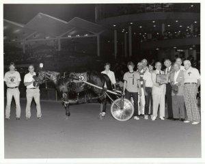COLUMBUS, Ohio, Scioto Dwons Harness Racing, LUDHAM wins
