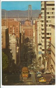 California Street Cable Car, San Francisco, 1960s used