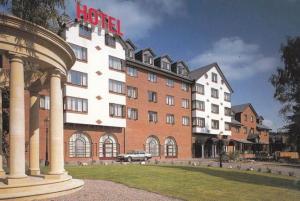 Britannia County House Hotel Didsbury Manchester Postcard