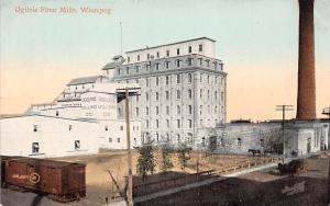 Canada Winnipeg, Ogilvie Flour Mills, Factory, Horse Carriage