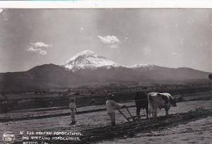 Mexico Volcano Popocatepetl 1957 Real Photo