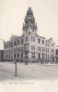 PHILADELPHIA, Pennsylvania, 1901-1907s; R.C. High School
