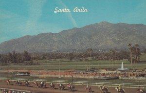 ARCADIA , California , 50-60s ; Horse Race Track