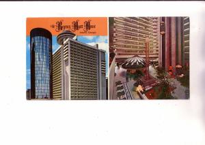 Twoview, Regency Hyatt House Hotel, Atlanta Georgia, Double Length Card