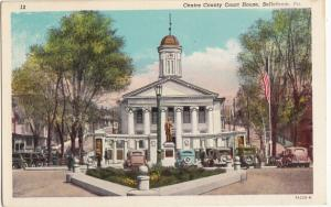 Centre County Court House, Bellefonte, PA, unused Postcard