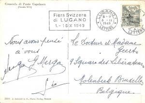 Switzerland Cenacolo di Ponte Capriasca 1949
