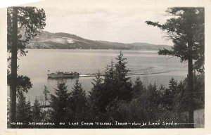 Seeweewana On Lake Couer D Alene Idaho ID RPPC Real Photo Leos Studio VTG  P81