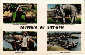 CPA AK INDOCHINA Souvenir du Viet-Nam VIETNAM (957573)