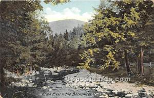 Green River in the Berkshires Great Barrington MA 1909