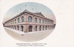 KANSAS CITY , Missouri, 1901-07 ; Convention Hall