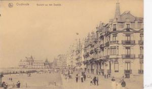 Gezicht Op Den Zeedijk, Oostende (West Flanders), Belgium, 1900-1910s