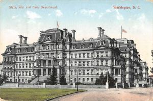 BR101260 washington d c state war and navy department   usa