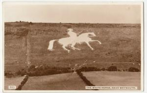 Dorset; The View Horse, Nr Weymouth 563 RP PPC 1934 PMK, & 4d To Pay