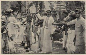 Devotee at Tamil Religious Festival - SINGAPORE , 00-10s