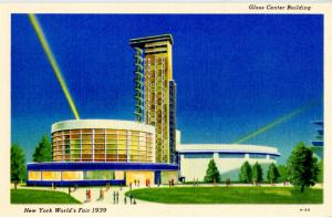 NY - New York World's Fair, 1939. Glass Center Building