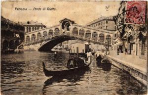 CPA Venezia Ponte di Rialto. ITALY (524992)