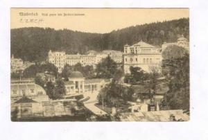 Marienbad. Blick gegen den Ferdinandsbrunn, Czech Republic , 00-10s