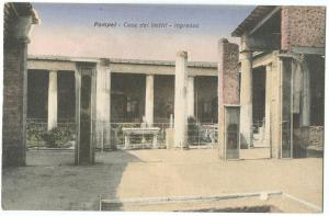 Italy, Pompei, Casa dei Vettii, Ingresso, early 1900s unused Postcard