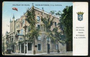 dc686 - TROIS RIVIERES Quebec Postcard 1929 Chateau de Blois