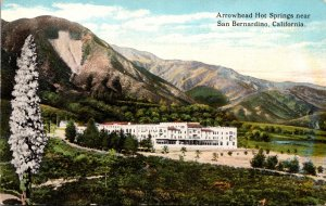 California San Bernardino Arrowhead Hot Springs Curteich