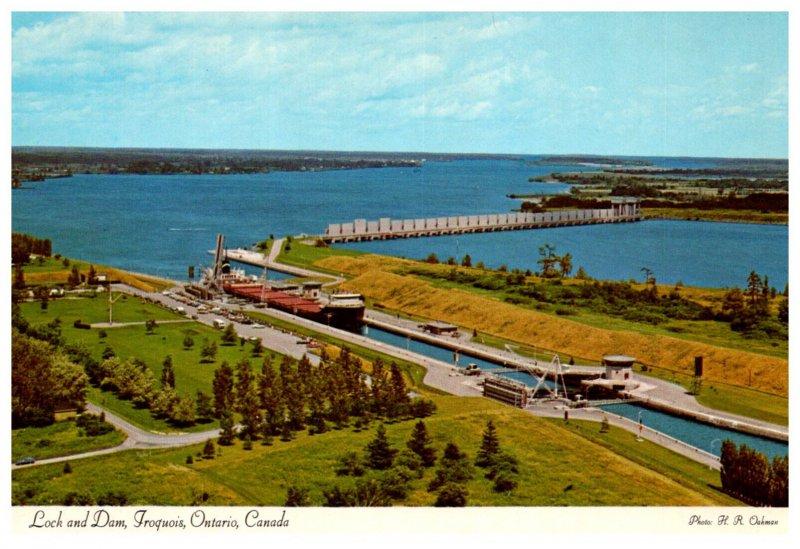 Canada  Iroqouis  ONT Lock and Dam