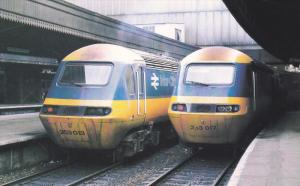 High Speed Trains No 253013 & No 253017, Paddington Station , England , 60-80s