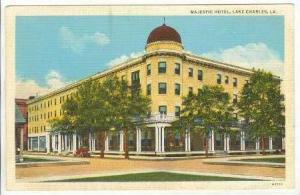 Majestic Hotel, Lake Charles, Lousiana, 30-40s