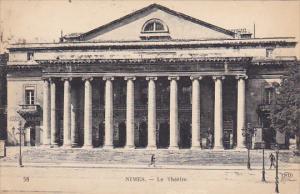 France Nimes Le Theatre 1927