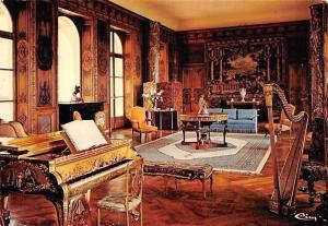 France Verdon (Eure) Chateau de Bizy, Le Grand Salon Castle Interior