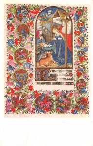 Book of Hours Latin, French Art Artist Unused