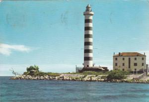Lighthouse , Lido Di Iesolo, Italy , PU-1961