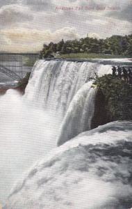 American Falls from Goat Island - Niagara Falls NY, New York - DB
