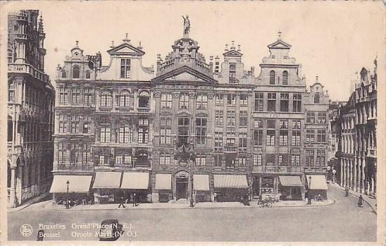 Belgium Brussel Groote Market 1947