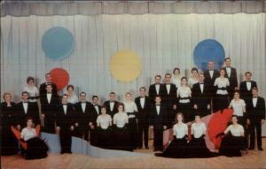 Berrien Springs MI Collegians Emmanuel Missionary College Choir 1950s Art Deco