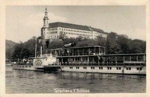 Czech Republic Tetschen a.e Schloss RPPC 03.38