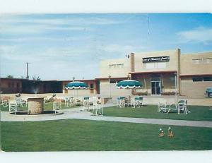 Pre-1980 MOTEL SCENE Clarendon Texas TX hk1949