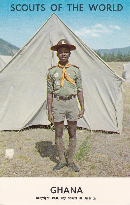 Boy Scouts of the World, GHANA, 1960´s