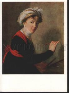 117468 Self-Portrait VIGEE-LE BRUN French PAINTER Artist Old