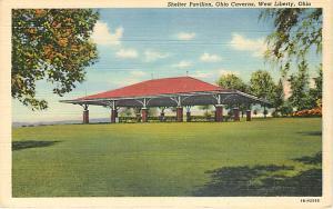 Shelter Pavilion, Ohio Cavers, West Liberty Ohio OH Linen